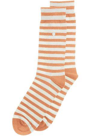 Alfredo Gonzales Sokken & Kousen - Harbour stripes oranje & wit