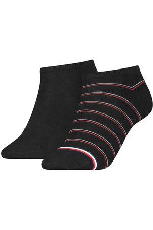 Tommy Hilfiger Dames Sokken & Kousen - Dames sneaker 2-pack preppy