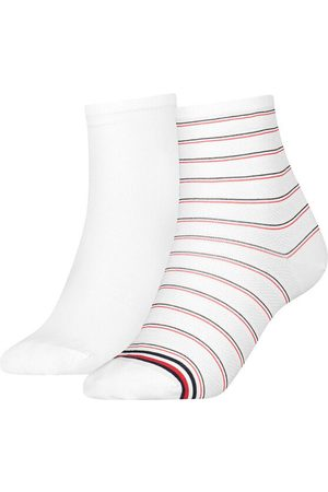 Tommy Hilfiger Dames Shorts - Dames short sock 2-pack preppy