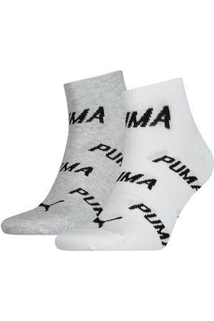 PUMA Sokken & Kousen - Bwt quarter 2-pack wit & grijs