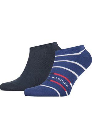 Tommy Hilfiger Heren Sokken & Kousen - Breton stripe sneaker 2-pack