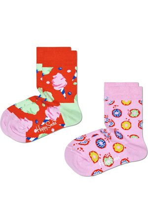 Happy Socks Sokken 2-Pack Kids Cotton Candy Socks