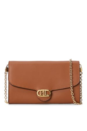 Lauren by Ralph Lauren Leather Adair Small Crossbody