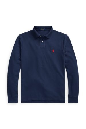 Polo Ralph Lauren Slim Fit Mesh Long-Sleeve Polo