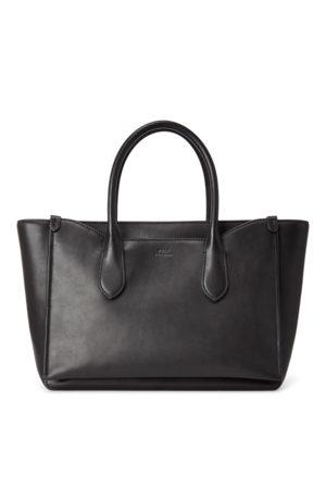 Polo Ralph Lauren Leather Sloane Satchel