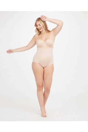 Spanx Suit Your Fancy High-Waisted Brief | Soft Nude