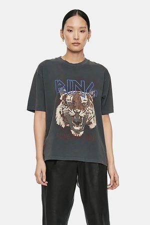 ANINE BING Dames Shirts - T-shirt Tiger A-08-2003-000