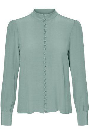 Vero Moda Japanse Overhemd Dames Green