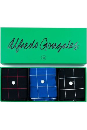 Alfredo Gonzales Check 3-pack giftbox