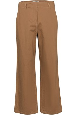 S Max Mara Faesite cropped cotton-blend pants