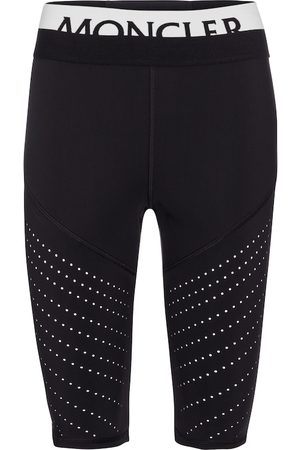 Moncler Perforated biker shorts