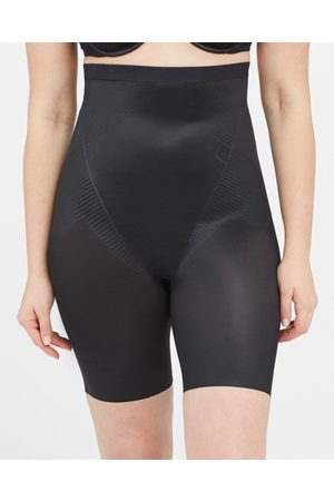Spanx Thinstincts 2.0 High Waisted Mid Thigh Short | Black