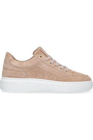 Manfield Dames Sneakers - Suède sneakers
