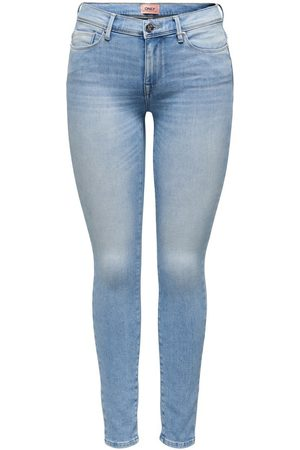 Only Onlshape Life Reg Ankle Skinny Jeans Dames Blauw