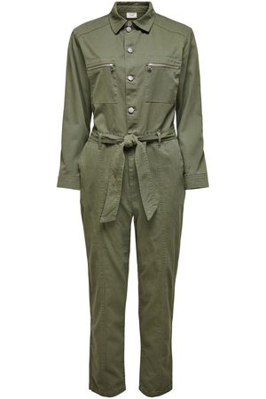 Only Utility Jumpsuit Dames Green