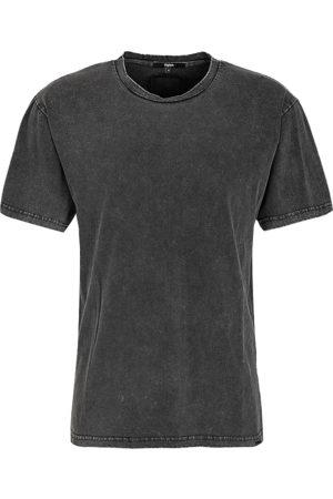Tigha Heren afdrukbaar hemd Neon Spider Lessio zwart (vintage black)