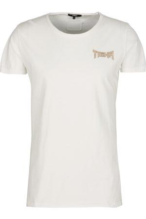 Tigha Heren afdrukbaar hemd Vintage Eagle Wren wit (white)
