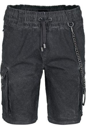 Tigha Heren Shorts Bayar grijs (vintage stone grey)