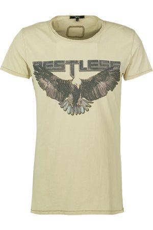 Tigha Heren afdrukbaar hemd Restless Wren beige (vintage light sand)