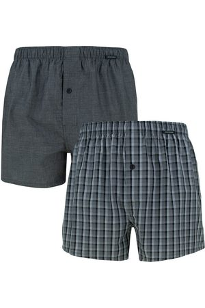 Schiesser Boxershorts woven boxers 2-pack ruit &&