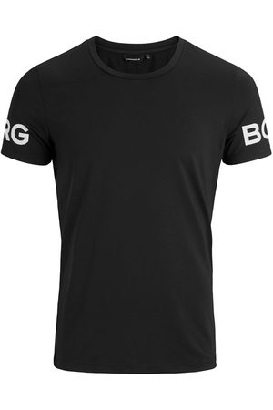 Björn Borg Heren Shirts - Performance O-hals shirt borg