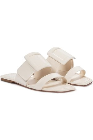 Roger Vivier Viv' In The City leather slides