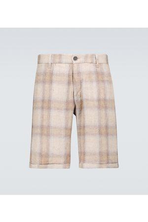 BARENA Rio Romaso linen shorts