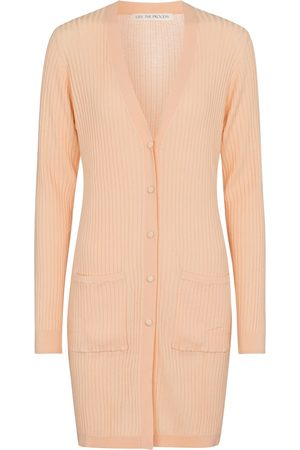 LIVE THE PROCESS Ribbed-knit cardigan