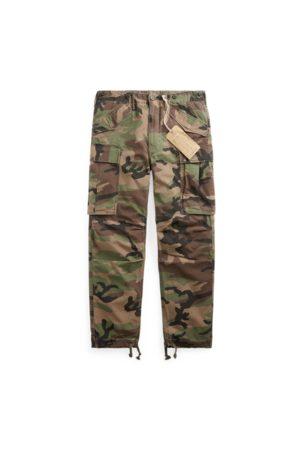 RRL Camo Ripstop Cargo Trouser