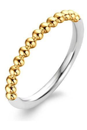 Ti Sento Milano Dames Ringen - Ringen 925 Sterling Zilver Ring 1937 Goudkleurig