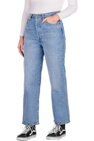 Levi's Dames Straight - Ribcage Straight Ankle 27 Jeans