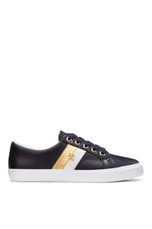 Lauren by Ralph Lauren Janson II Leather Trainer