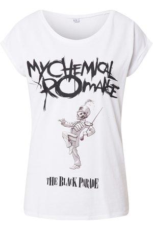 Merchcode Shirt ' Ladies My Chemical Romance Black Parade Cover Tee