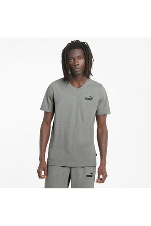 PUMA Essentials T-shirt met V-hals heren, , Maat L  