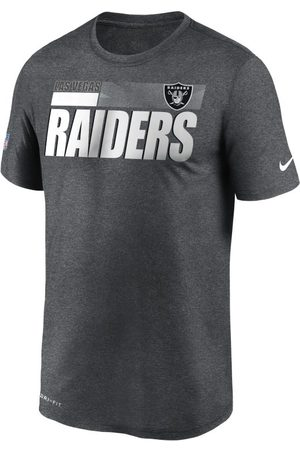 Nike Dri-FIT Team Name Legend Sideline (NFL Las Vegas Raiders) T-shirt voor heren