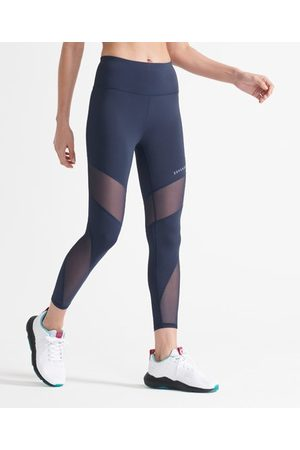 Superdry Sport 7/8 Training legging van mesh