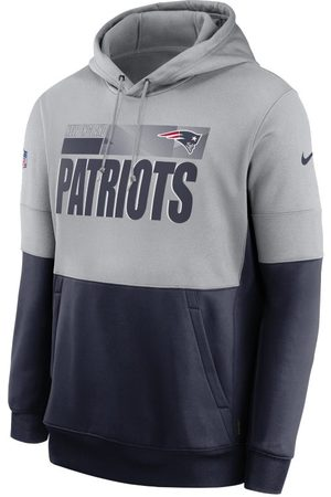 Nike Therma Team Name Lockup (NFL New England Patriots) Hoodie voor heren