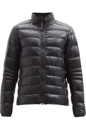 Canada Goose Crofton Quilted Down Coat - Mens - Black