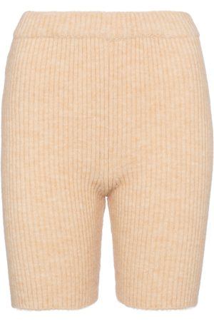 Nanushka Exclusive to Mytheresa – Siu ribbed-knit biker shorts