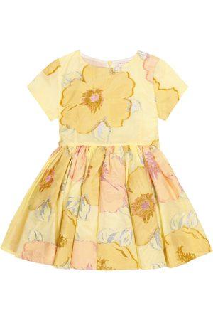 MORLEY Jelsa embroidered cotton-blend dress
