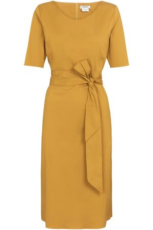 Max Mara Liriche cotton poplin-blend midi dress