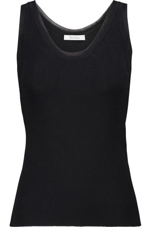 Max Mara Zadar ribbed-knit tank top
