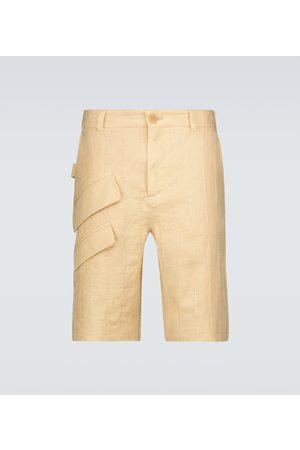 Jacquemus Le Short Raphia Bermuda shorts
