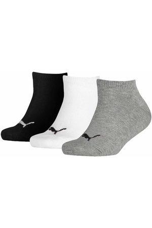 Puma Kids quarter 3-pack grijs / wit / zwart