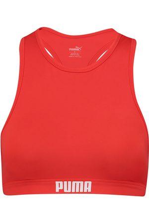 PUMA Bikinis Racerback Swim Top