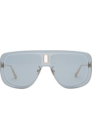 DIOR Ultra Aviator Acetate Sunglasses - Womens - Blue