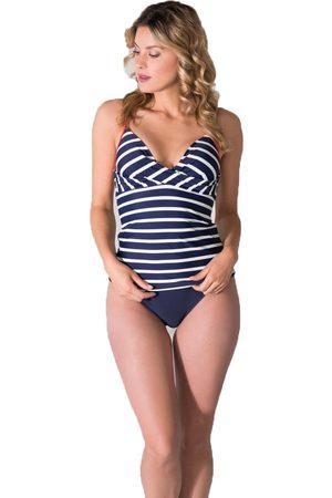 adidas Dames Tankini's - Ladies tankini stripe special 28.919t-900