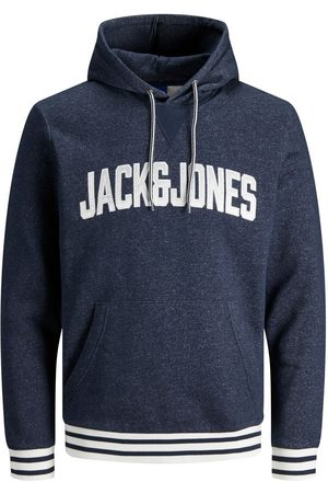 Jack & Jones Logo Kangaroo Pocket Hoodie Heren