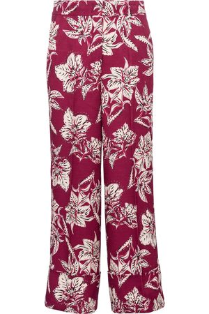 Dorothee Schumacher Structured Florals high-rise straight pants