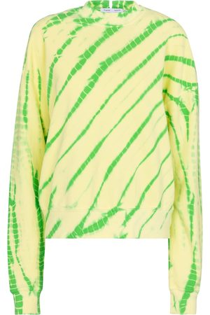Proenza Schouler White Label tie-dye cotton sweatshirt